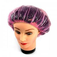 Hairmaster артикул: 890501 RED 100 шт. Одноразовая красная шапочка Hairmaster упаковка 100 шт.