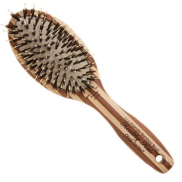Бамбуковая щетка для волос Olivia Garden Healthy Hair Paddle P6