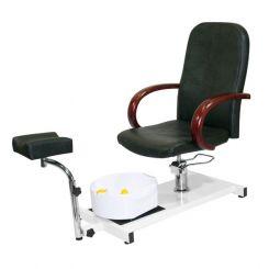 Кресло педикюрное Hairmaster Jetta Black артикул 8915002 BLK фото, цена pr_14138-01, фото 1