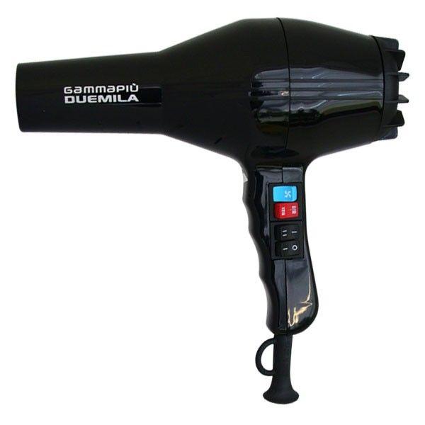 Фен GammaPiu Duemilia Black 1800 Вт