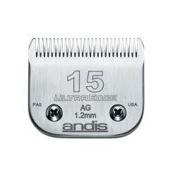 Ножевой блок ANDIS ULTRA EDGE №15, 1,2 мм, совместим с роторными машинками ANDIS, MOSER, OSTER, THR артикул AN u 64072 фото, цена pr_14661-01, фото 1
