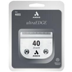 Ножевой блок ANDIS ULTRA EDGE №40, 0,25 мм, совместим с роторными машинками ANDIS, MOSER, OSTER, TH артикул AN u 64084 SS фото, цена pr_14663-01, фото 1