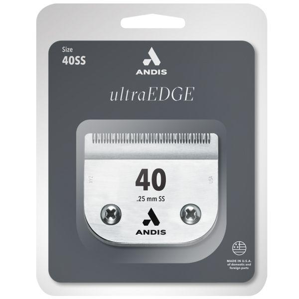 Ножевой блок ANDIS ULTRA EDGE SS №40, 0,25 мм
