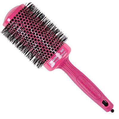 Брашинг OLIVIA GARDEN CERAMIC ION Thermal Brush Pink 55 мм
