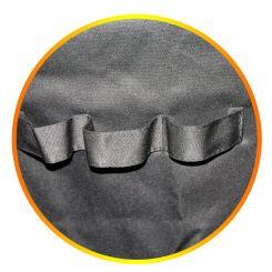 Парикмахерский фартук для Hairmaster Size-Silver артикул 890881 S фото, цена pr_16005-03, фото 3
