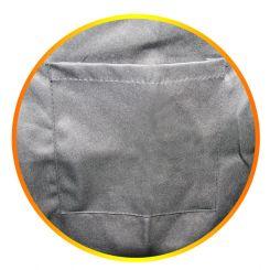 Парикмахерский фартук для Hairmaster Size-Silver артикул 890881 S фото, цена pr_16005-04, фото 4