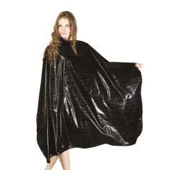 Пеньюар HAIRMASTER ZEBRA черный 138X160 артикул 890814 BLK фото, цена pr_16015-01, фото 1