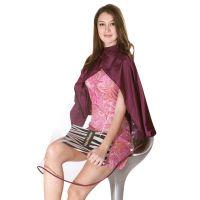 Hairmaster артикул: 890817 VIO Фиолетовый пеньюар для стрижки волос с окном Hairmaster Icape