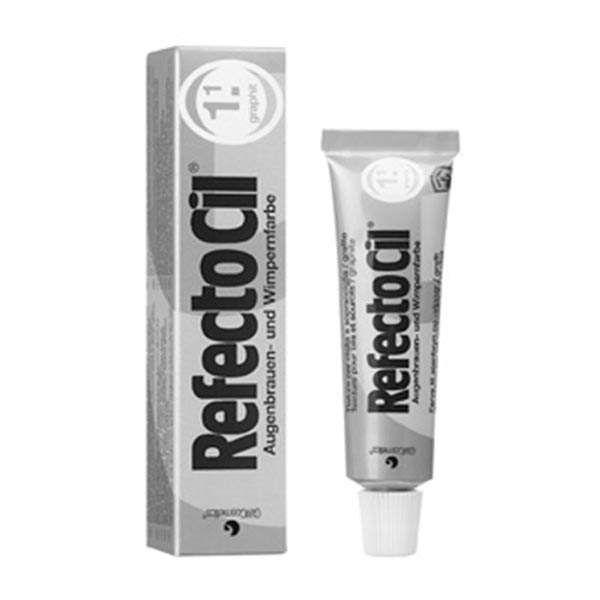 """Краска для бровей и ресниц RefectoCil № 1.1 цвет """"Графит"""""""