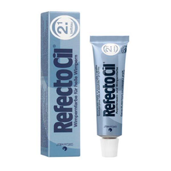 """Краска для бровей и ресниц RefectoCil № 2.1 цвет """"Темно-Синий"""