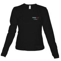 Babyliss Pro артикул: M1708E-M Черная женская футболка Babyliss Pro размер M с длинным рукавом