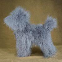 Opawz артикул: OW16-MD01-BODY-GREY Парик для тела манекена собаки MD01 - серый Той-пудель