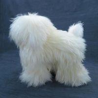 Opawz артикул: OW16-MD01-BODY-WHT Парик для тела манекена собаки MD01 - белый Той-пудель