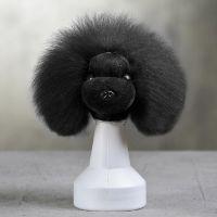 Opawz артикул: OW16-MD06-HEAD-BLK Черный парик для головы манекена собаки MD06 - Плюшевый Медведь