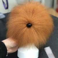 Opawz артикул: OW16-MD06-HEAD-BRN Коричневый парик для головы манекена собаки MD06 - Плюшевый Медведь
