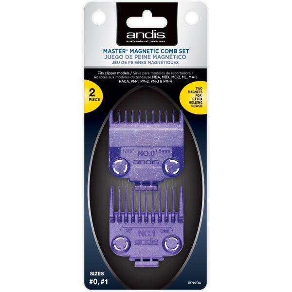 Насадки для стрижки на магнитах Andis Master Dual Magnet 2 шт.