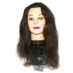 Болванка женская EUROSTIL, шатен, длина волос 40-50 см артикул 00603 фото, цена pr_59-01, фото 1