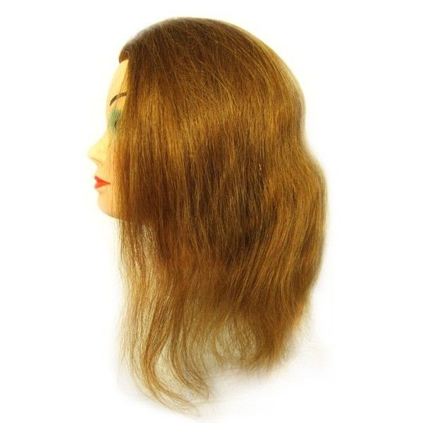 Болванка женская SIBEL FINE IMPLANT с длинной волоса 35-40 см, без штатива