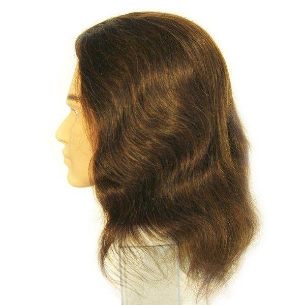 Болванка мужская SIBEL с длиной волос 30-35 см, без штатива