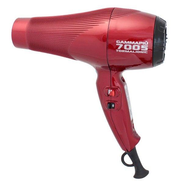 Фен GammaPiu 7005 TormalIonic Red 2500 Вт