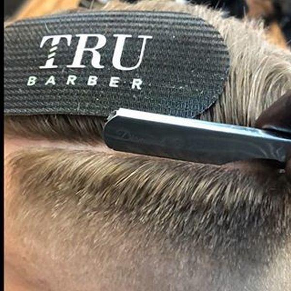 Липучка фиксатор для волос для парикмахеров