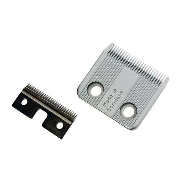 Пример ножевого блока парикмахерской машинки с креплением на винтах