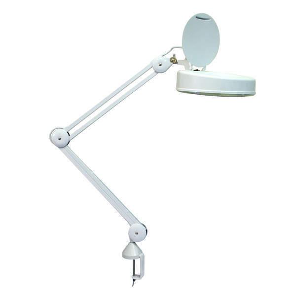 Косметологическая лампа лупа с штативом для стола