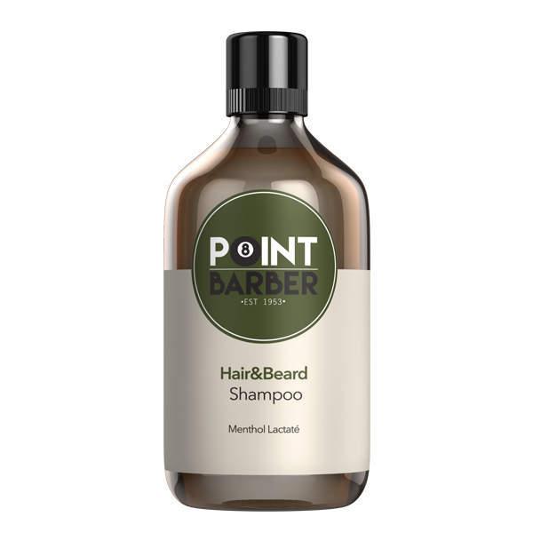 Освежающий шампунь для волос и бороды Point Barber