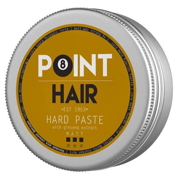 Матовая паста для сильной фиксации мужских волос Point Barber