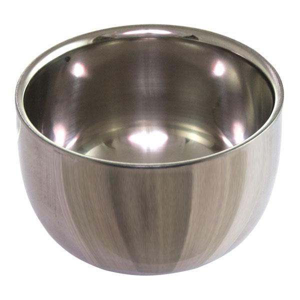 Металлическая чаша для пены и бритья