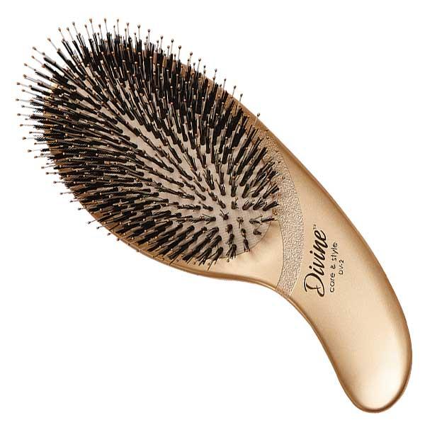 Овальная массажная щетка для волос