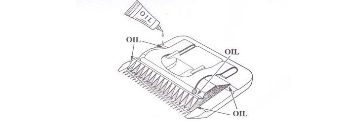 Как смазывать ножевой блок машинки для стрижки