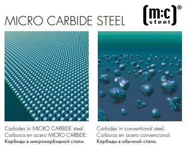 Микрокарбидная сталь